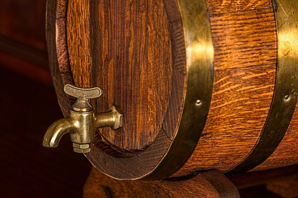 beer barrel, keg, cask